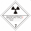 cartello adr materiali radioattivi categoria I